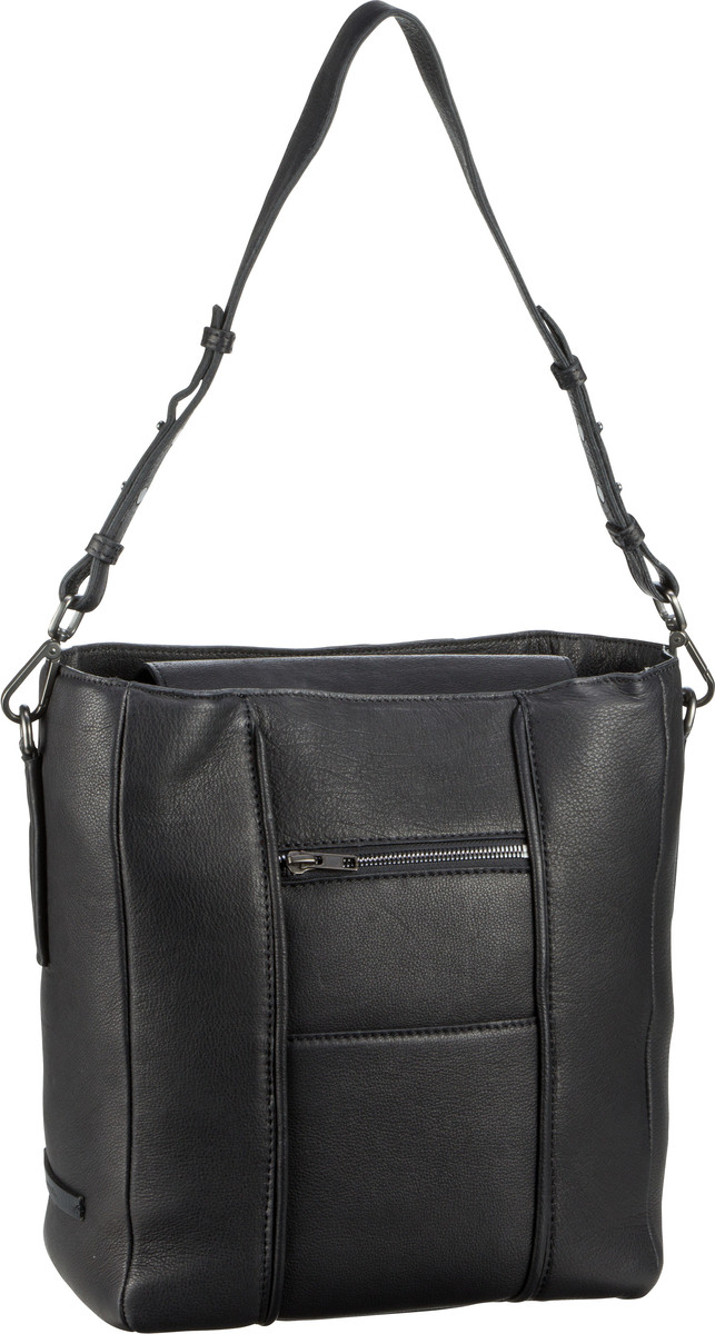 Marc O' Handtasche Fortyfive Luxury Washed Black