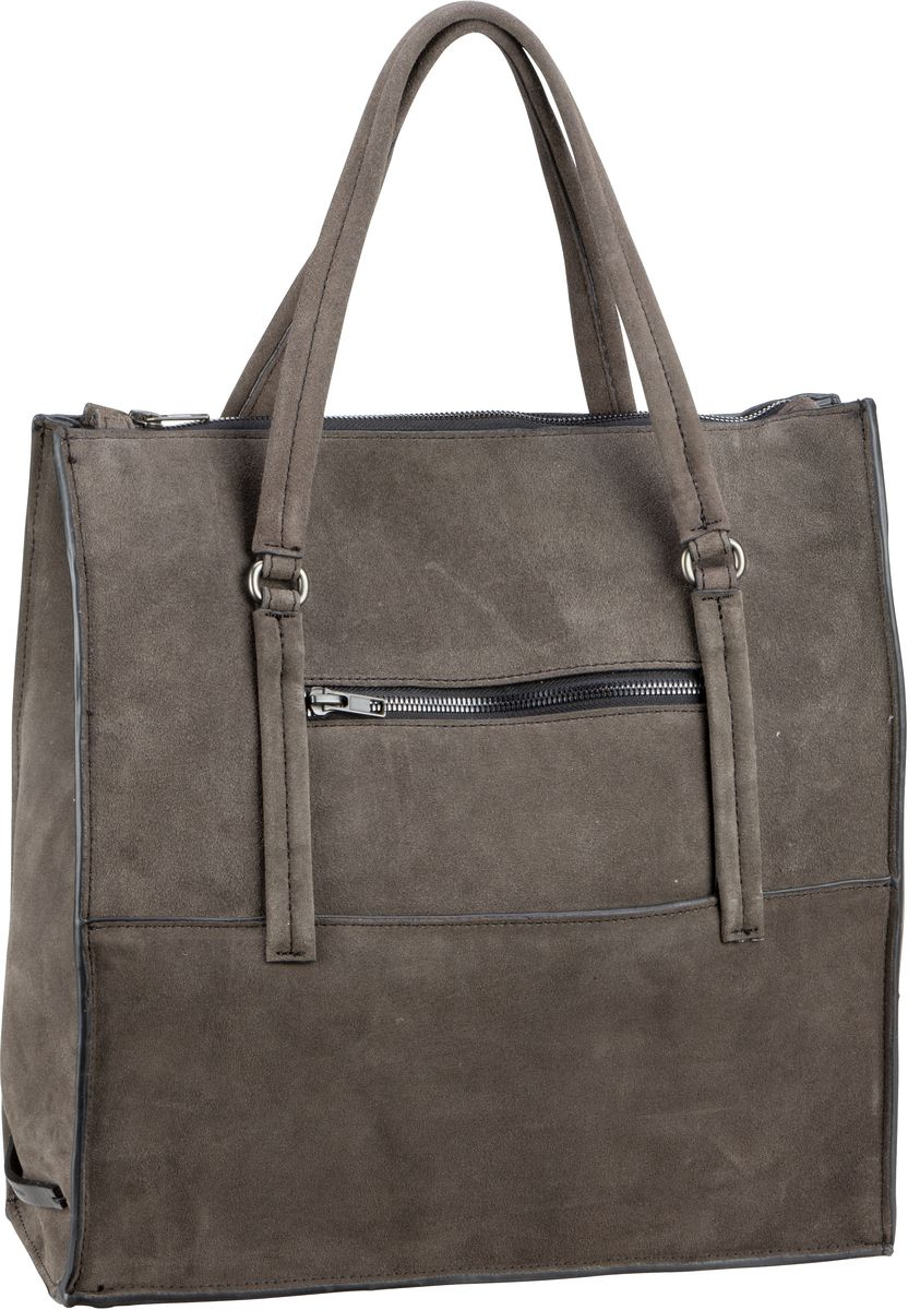 Marc O' Handtasche Fortythree Luxury Suede Grey