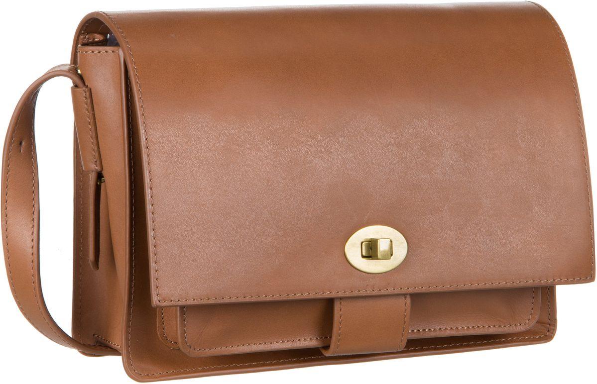 Schultertaschen für Frauen - Marc O'Polo Umhängetasche Sixtyone Copenhagen Cognac  - Onlineshop Taschenkaufhaus