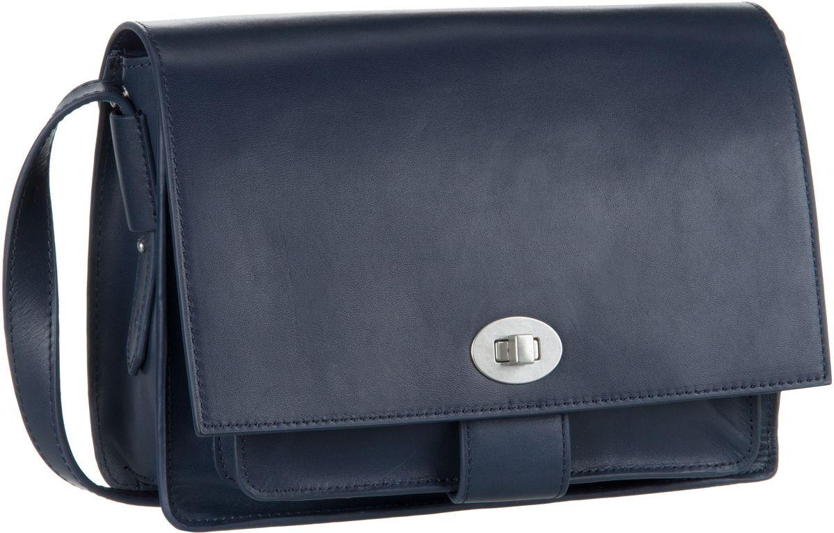 Schultertaschen für Frauen - Marc O'Polo Umhängetasche Sixtyone Copenhagen Night Blue  - Onlineshop Taschenkaufhaus