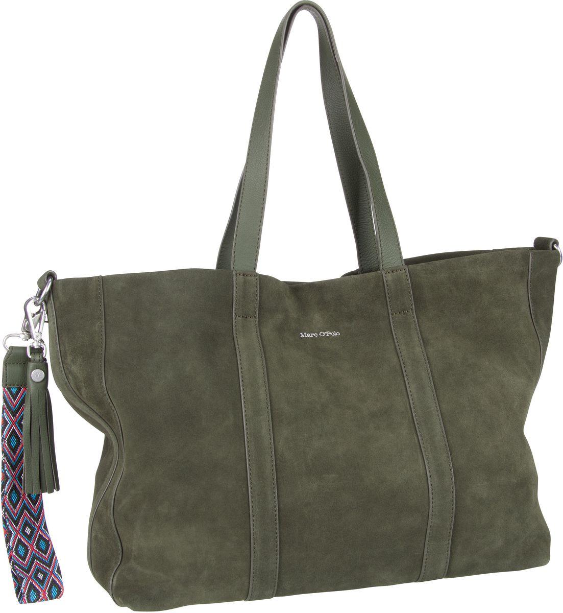Handtasche Skylar Luxury Suede Pine