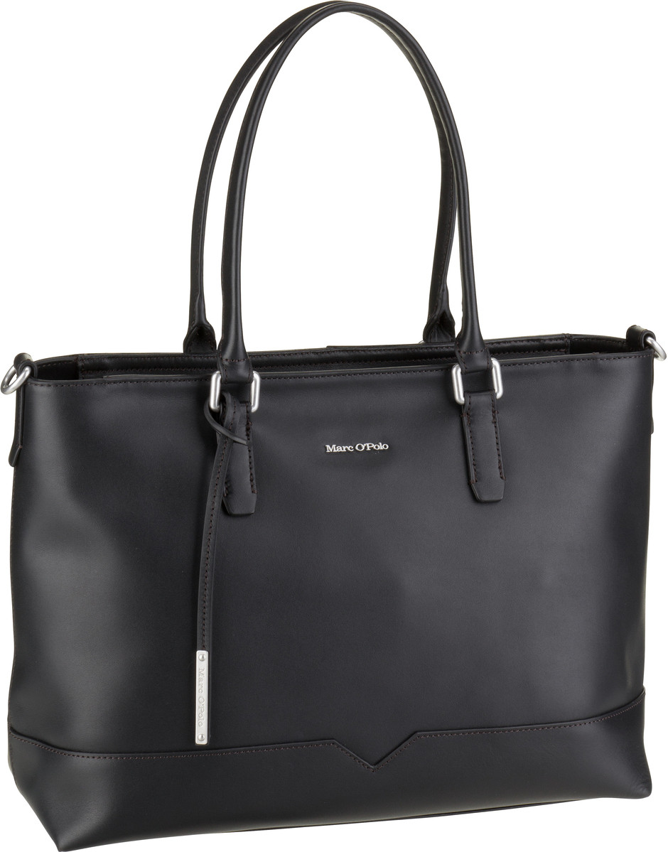 Shopper Nora Authentic Leather Black