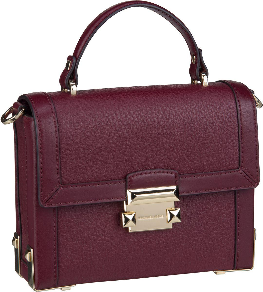 Michael Kors Handtasche Jayne Small Trunk Bag Oxblood