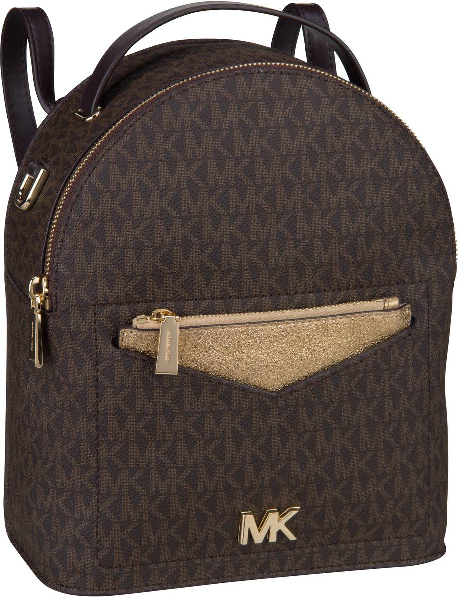 Rucksack / Daypack Jessa Small Backpack Brn/Plgold