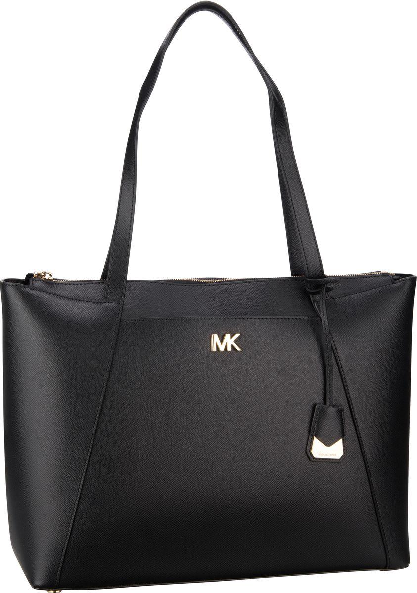 Michael Kors Handtasche Maddie Large EW TZ Tote Black