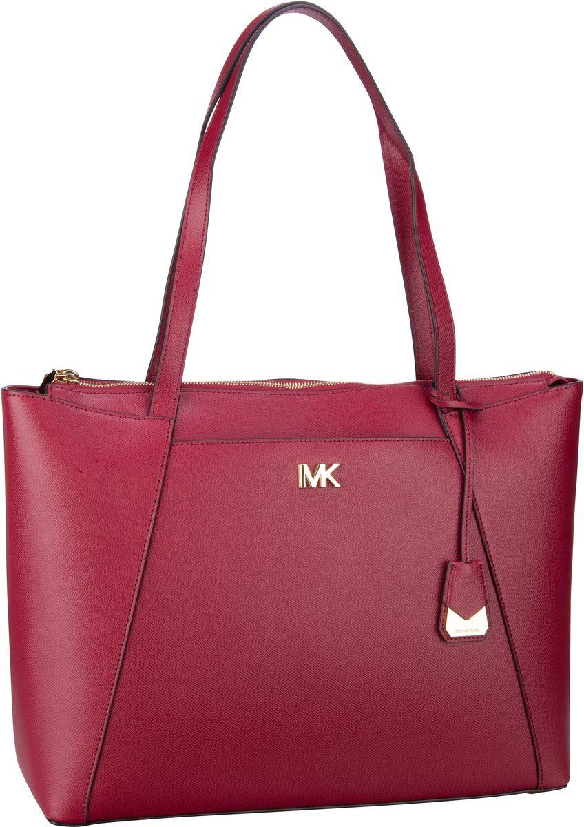 Michael Kors Handtasche Maddie Large EW TZ Tote Maroon