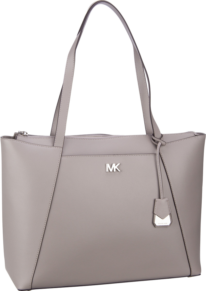 Michael Kors Handtasche Maddie Large EW TZ Tote Pearl Grey