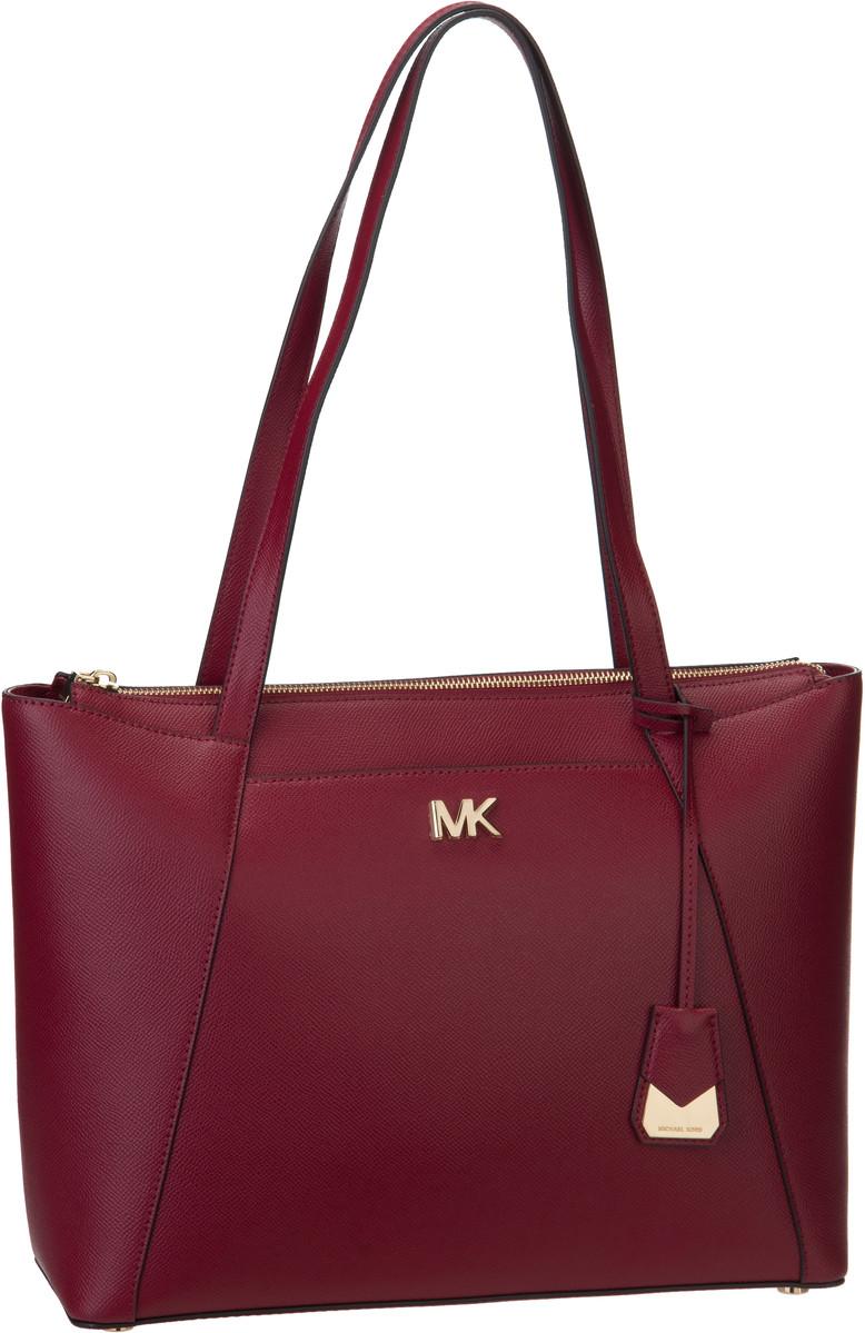 Michael Kors Handtasche Maddie Medium EW TZ Tote Maroon
