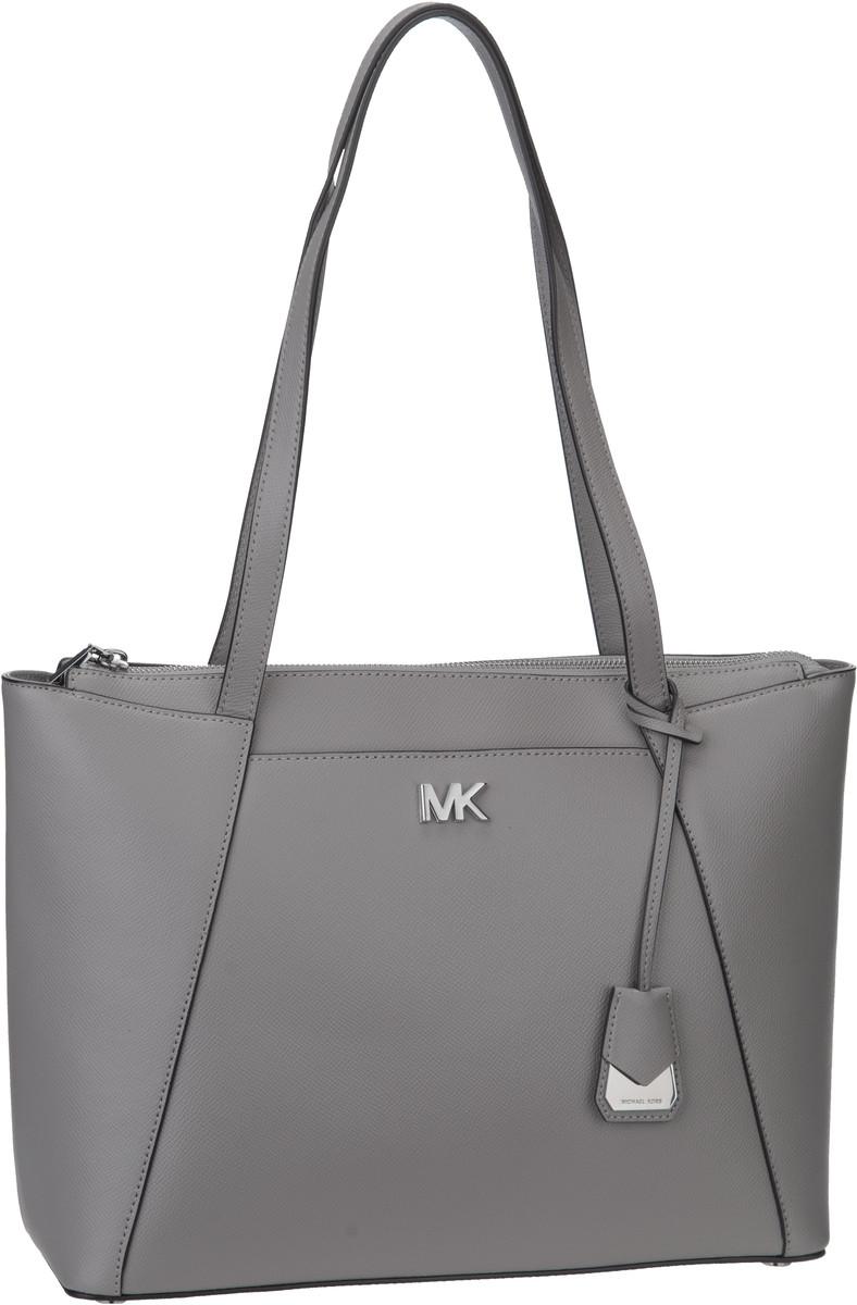 Michael Kors Handtasche Maddie Medium EW TZ Tote Pearl Grey
