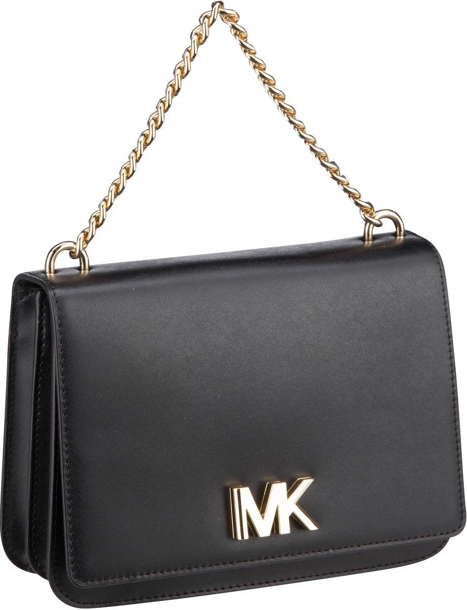 Michael Kors Handtasche Mott Large Chain Swag Shoulder Black