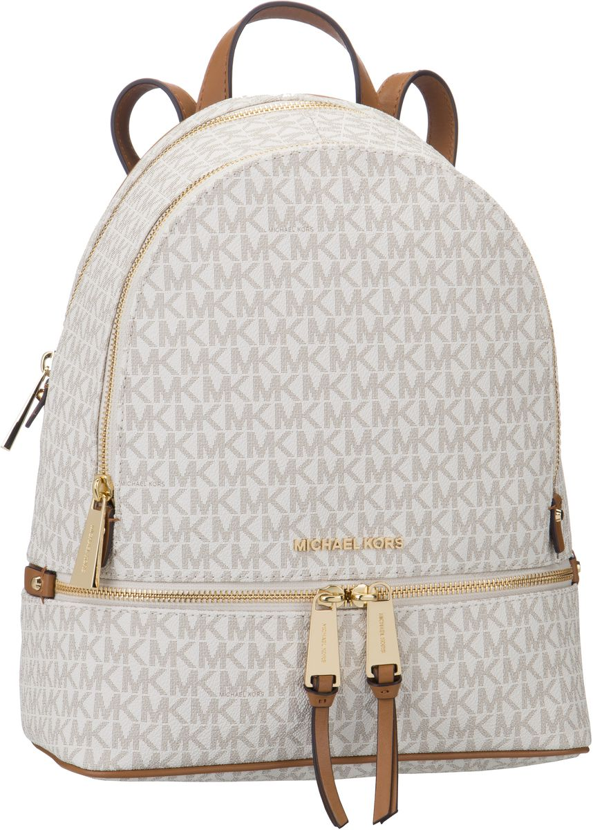 Rucksack / Daypack Rhea Zip Medium Backpack MK Signature Vanilla