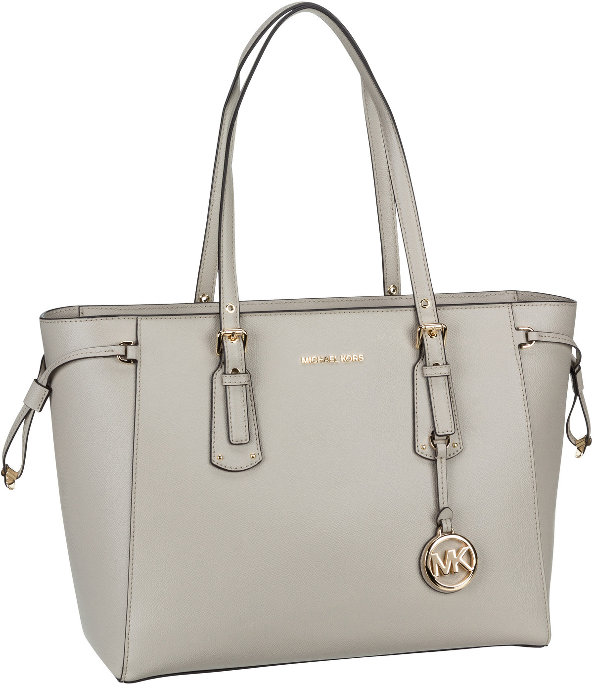 Michael Kors Handtasche Voyager Medium MF TZ Tote Light Sand