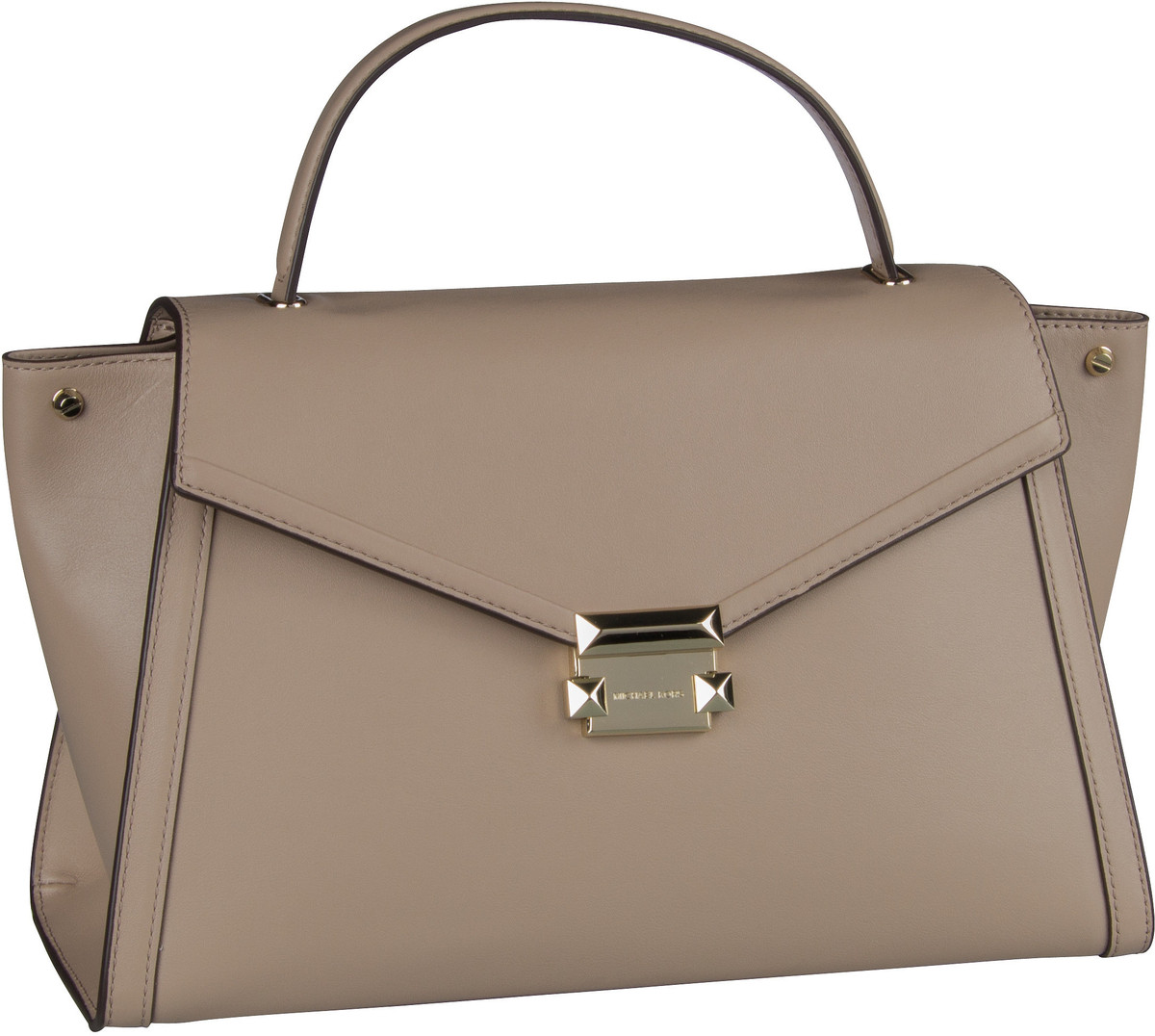 Michael Kors Handtasche Whitney Large TH Satchel Truffle