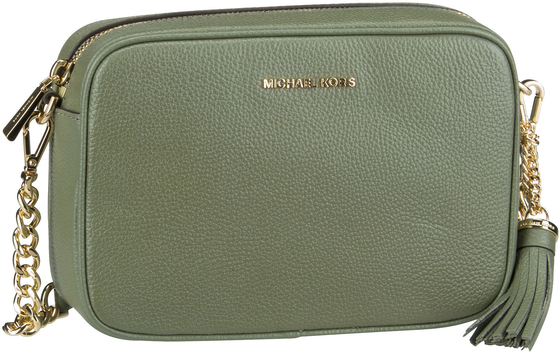 Michael Kors Umhängetasche Jet Set Medium Camera Bag Army Green
