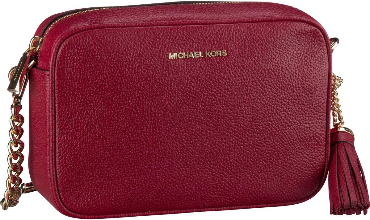 Michael Kors Umhängetasche Ginny Medium Camera Bag Maroon