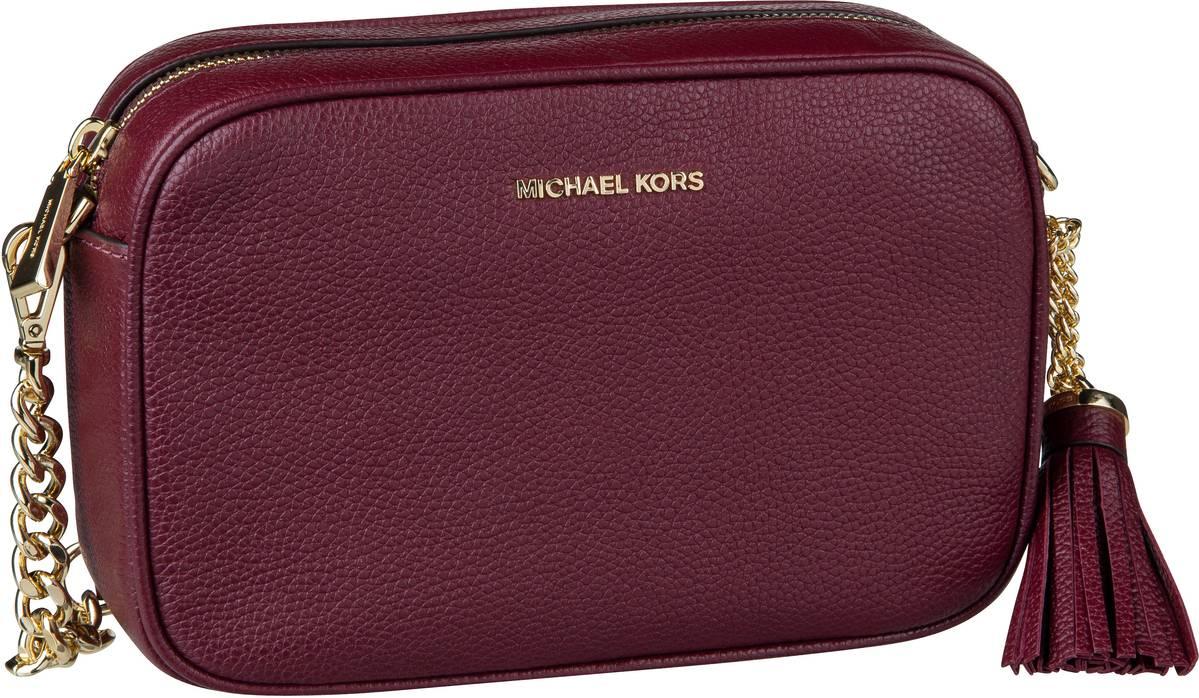 Michael Kors Umhängetasche Ginny Medium Camera Bag Oxblood