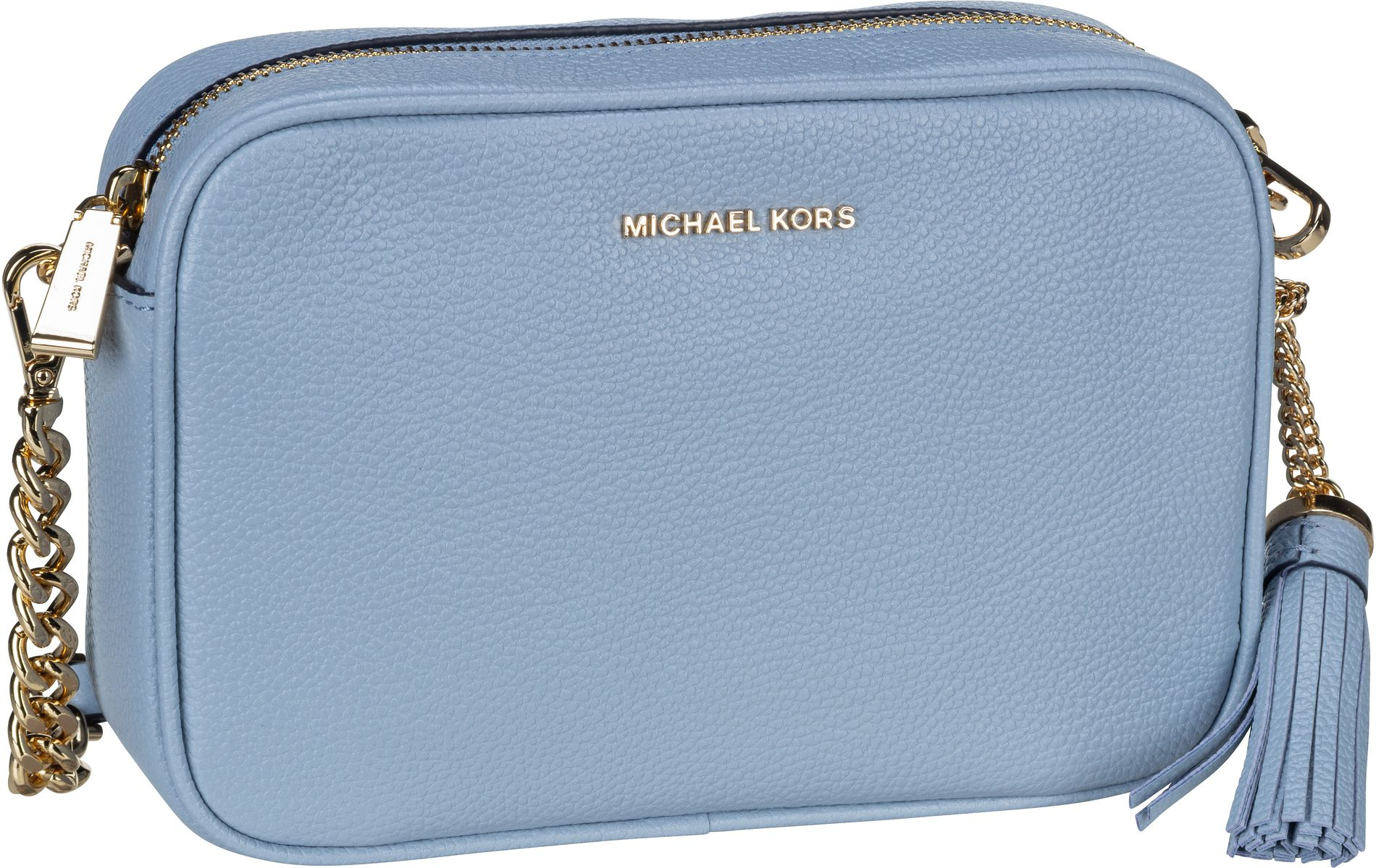 Michael Kors Umhängetasche Jet Set Medium Camera Bag Pale Blue