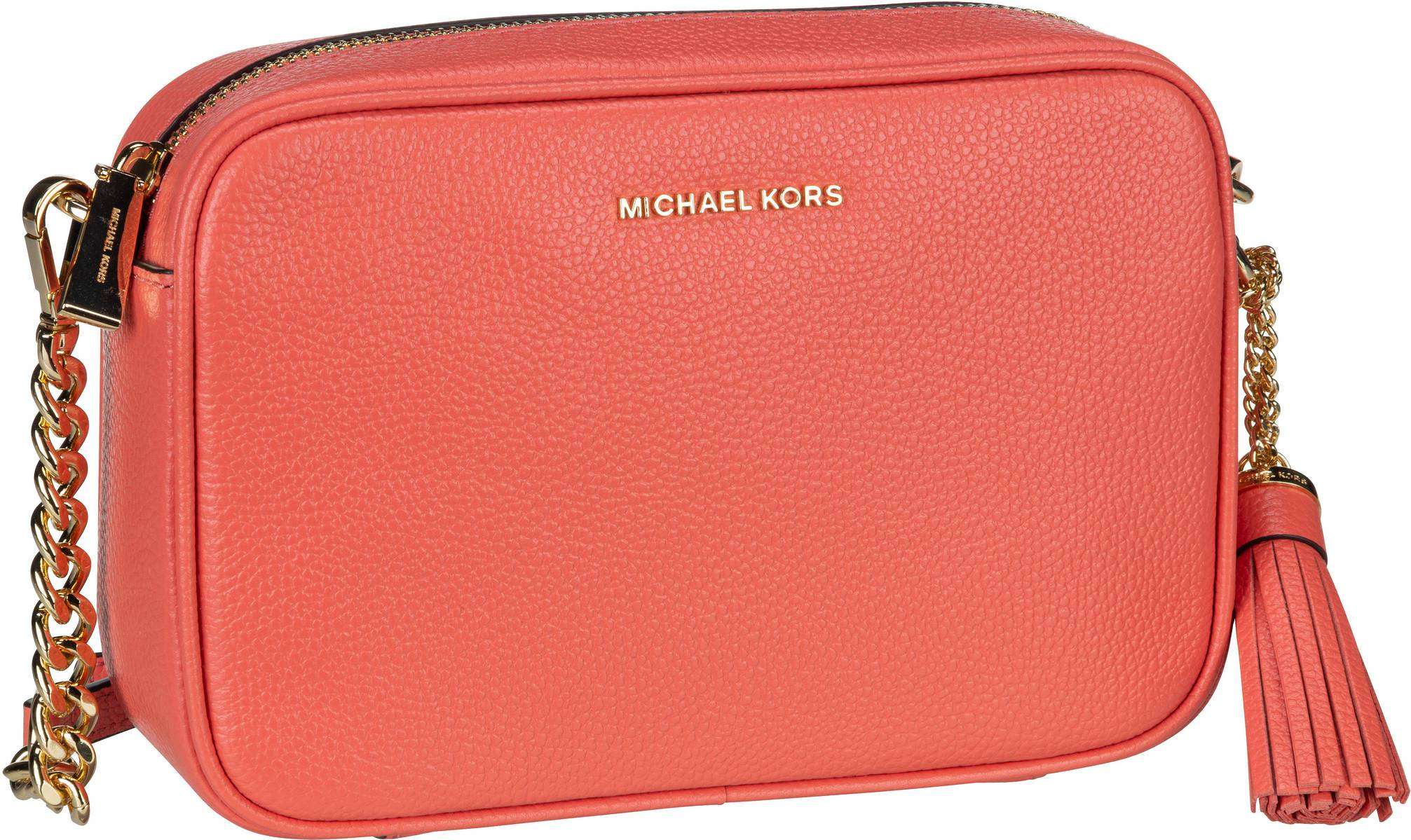 Michael Kors Umhängetasche Jet Set Medium Camera Bag Pink Grapefruit