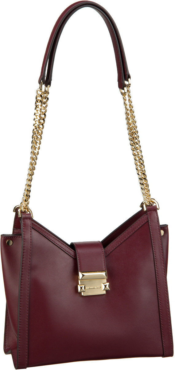 Michael Kors Handtasche Whitney Small Chain Shoulder Tote Oxblood