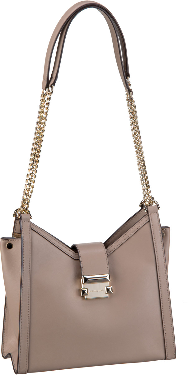 Michael Kors Handtasche Whitney Small Chain Shoulder Tote Truffle