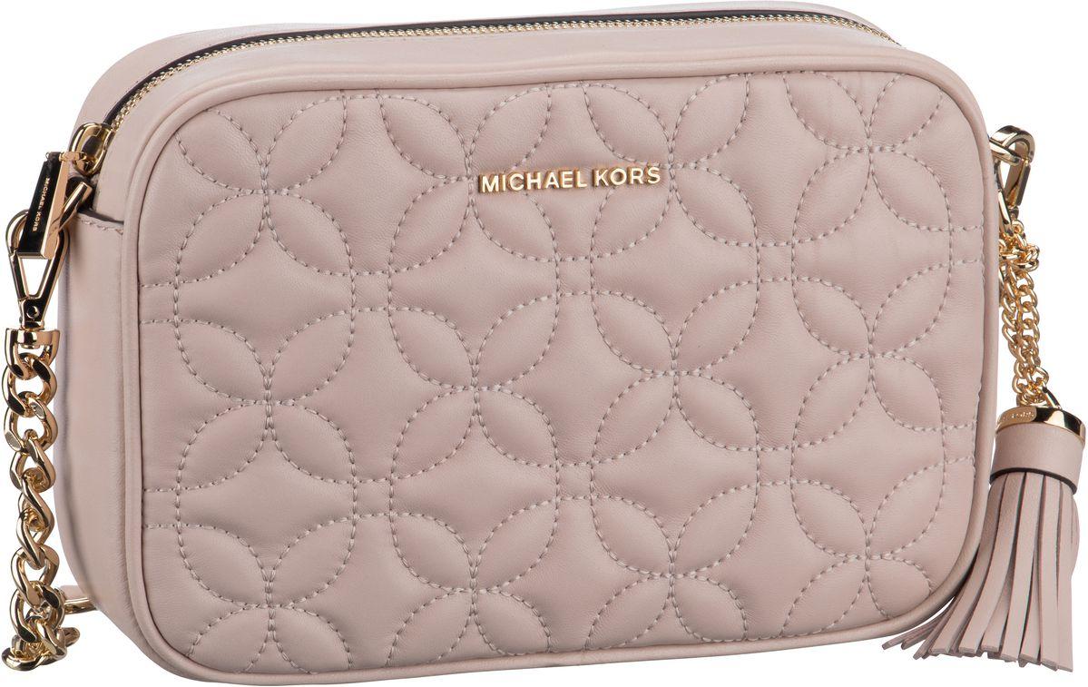 Michael Kors Umhängetasche Ginny Medium Camera Bag Flora Quilted Soft Pink
