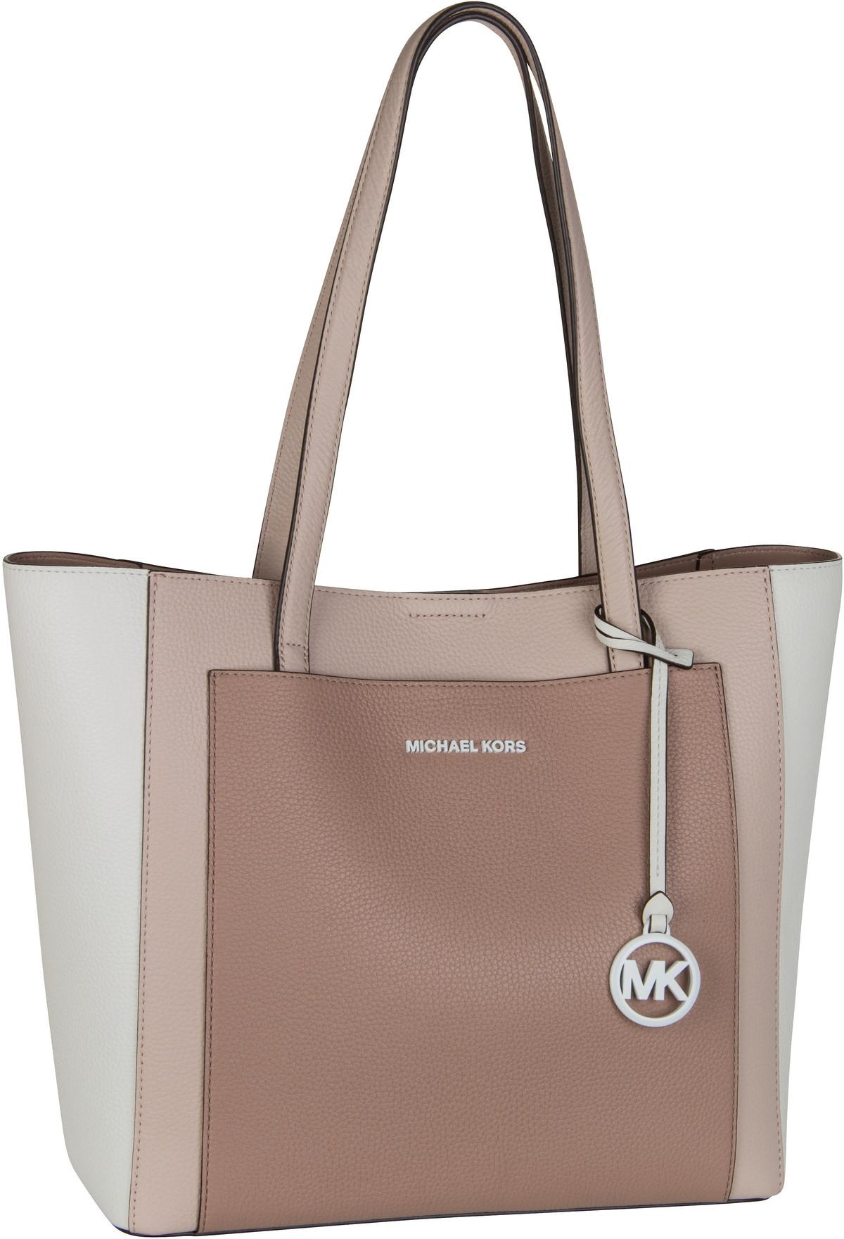 Michael Kors Handtasche Gemma Large Pocket Tote Soft Pink/Fawn
