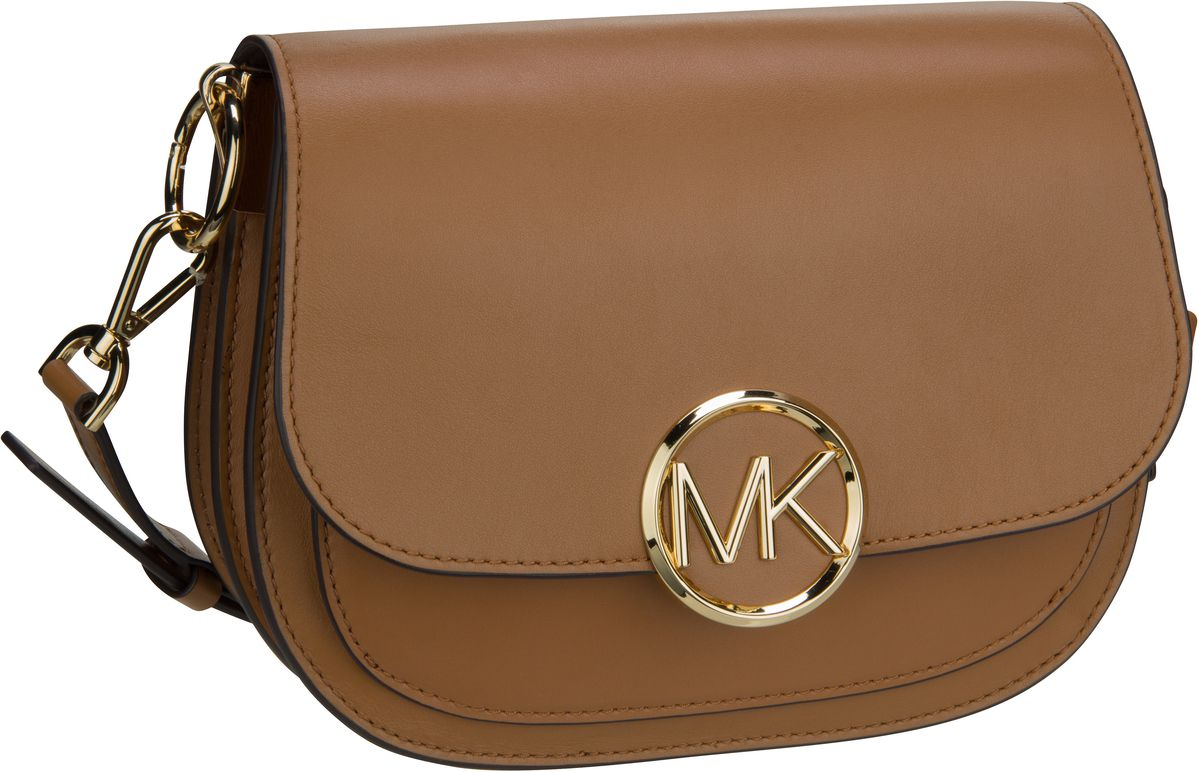 Michael Kors Umhängetasche Lillie Medium Saddle Messenger Acorn