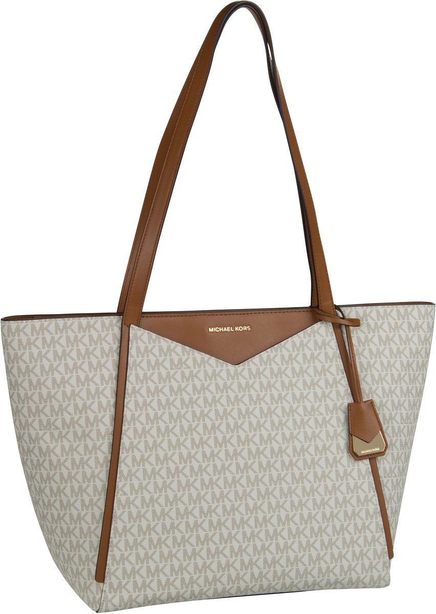 Michael Kors Shopper Whitney Large TZ Tote MK Signature Vanilla