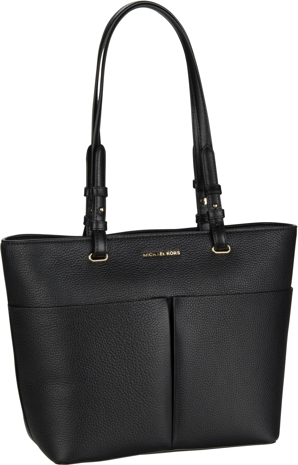 Michael Kors Handtasche Bedford Medium TZ Pocket Tote Black/Black