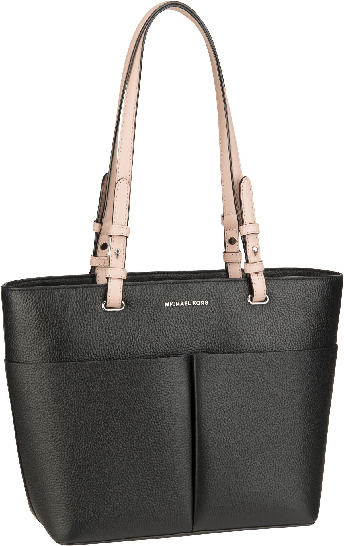Michael Kors Handtasche Bedford Medium TZ Pocket Tote Black/Light