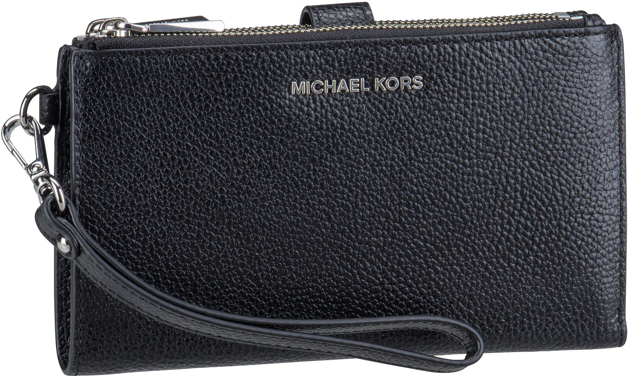 Michael Kors Handtasche Jet Set DoubleZip Wristlet Black