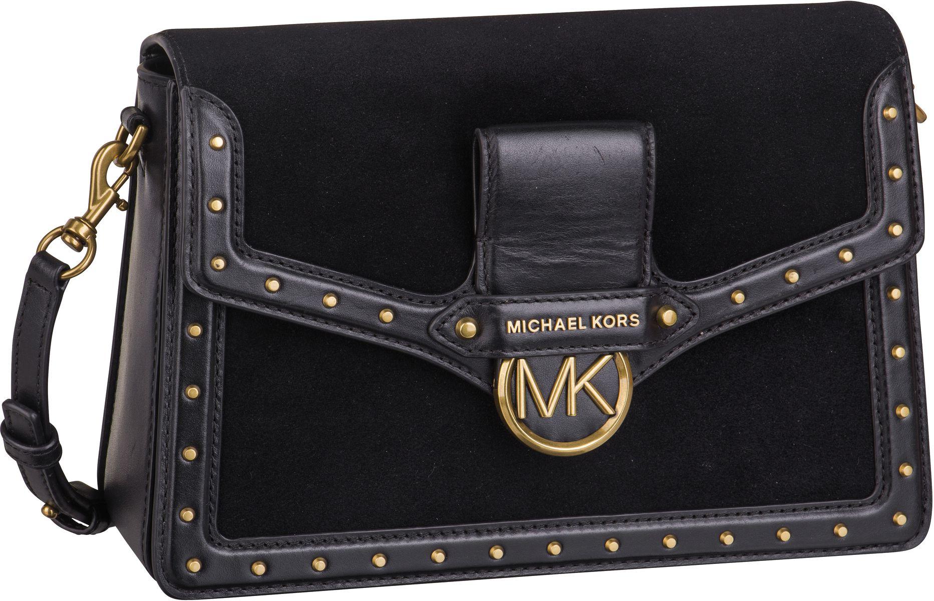 Michael Kors Umhängetasche Jessie Large Flap Shoulderbag Black