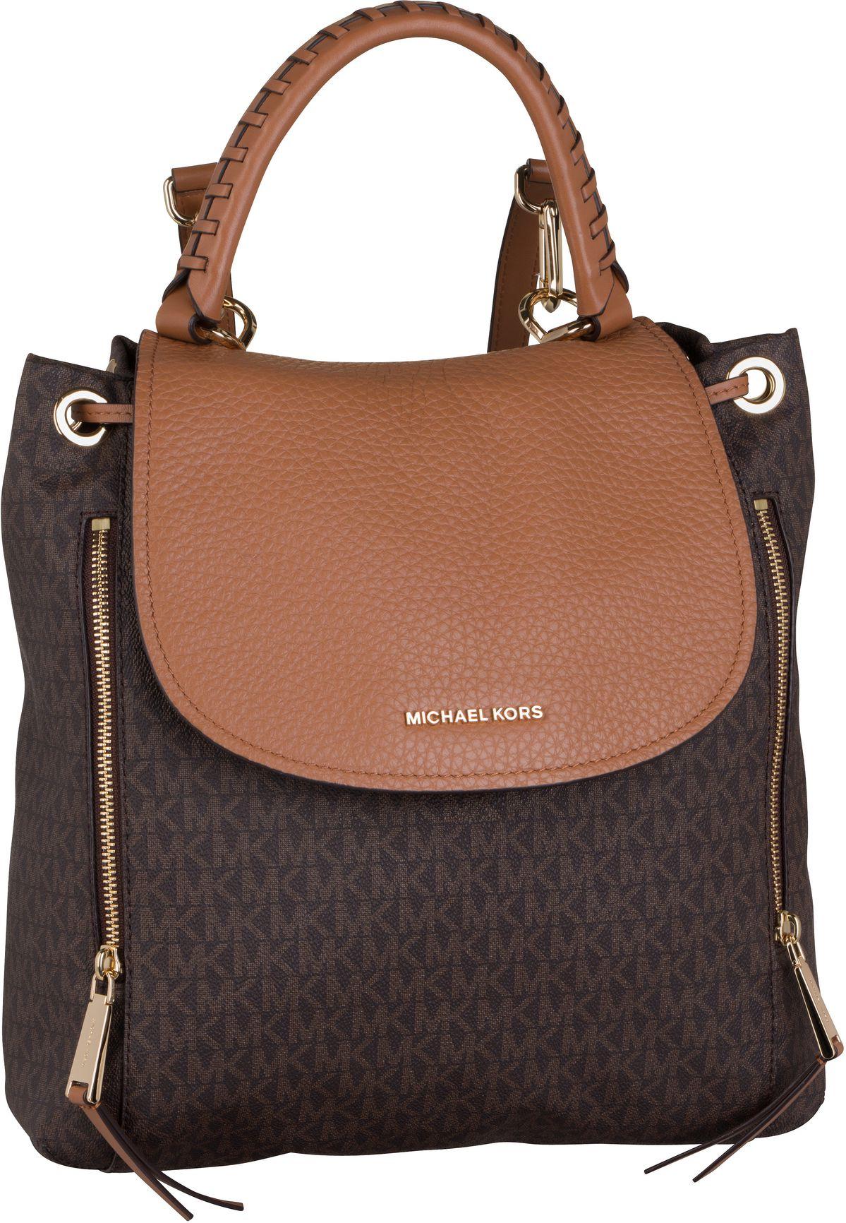 Rucksack / Daypack Viv Large Backpack MK Signature Brown/Acorn