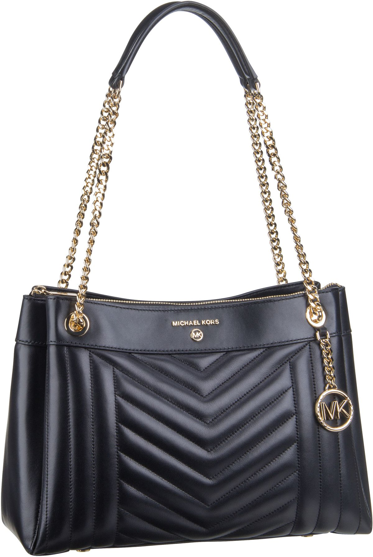 Michael Kors Handtasche Susan Medium Shoulder Black