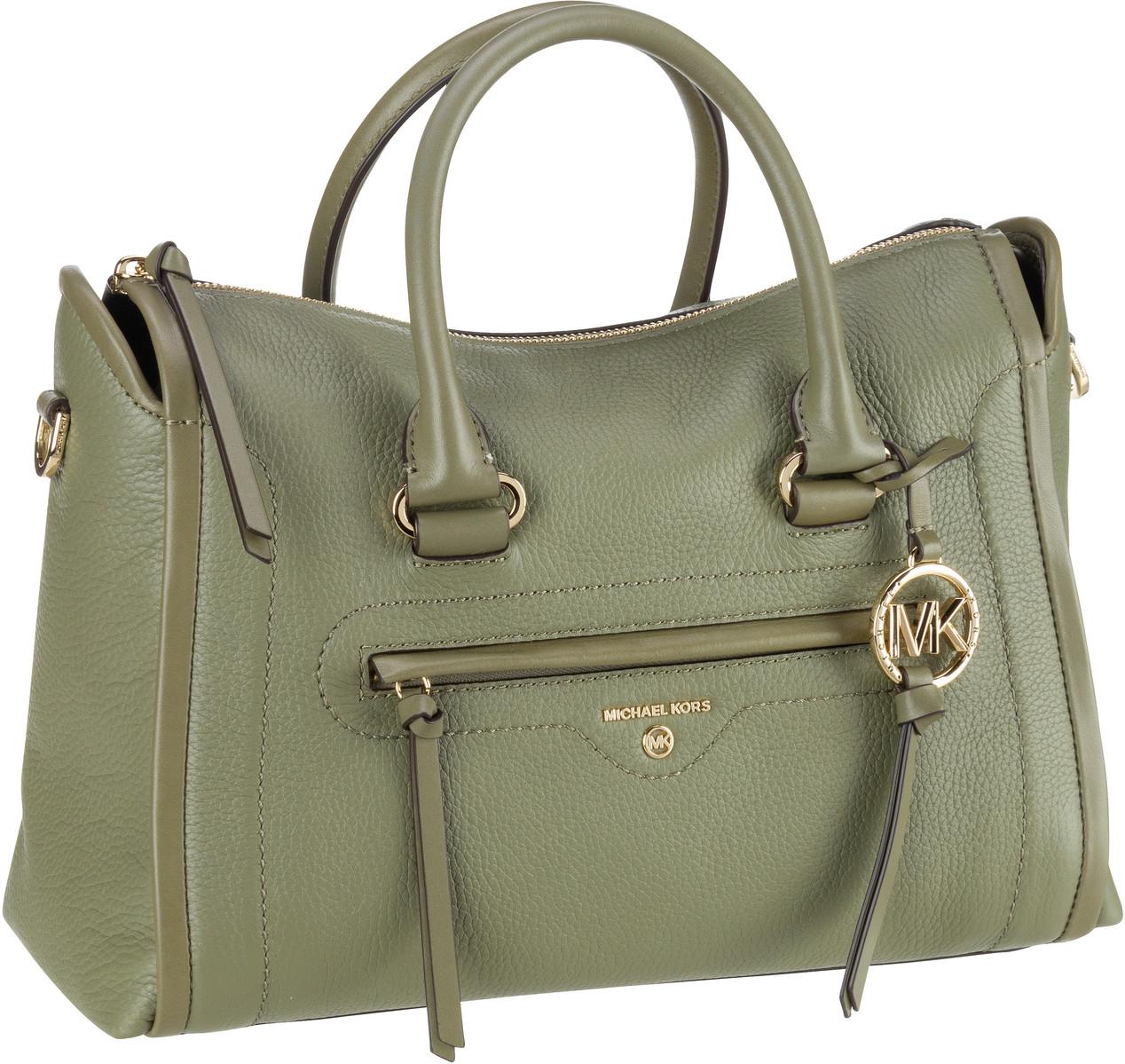 Michael Kors Handtasche Carine Medium Satchel Army Green