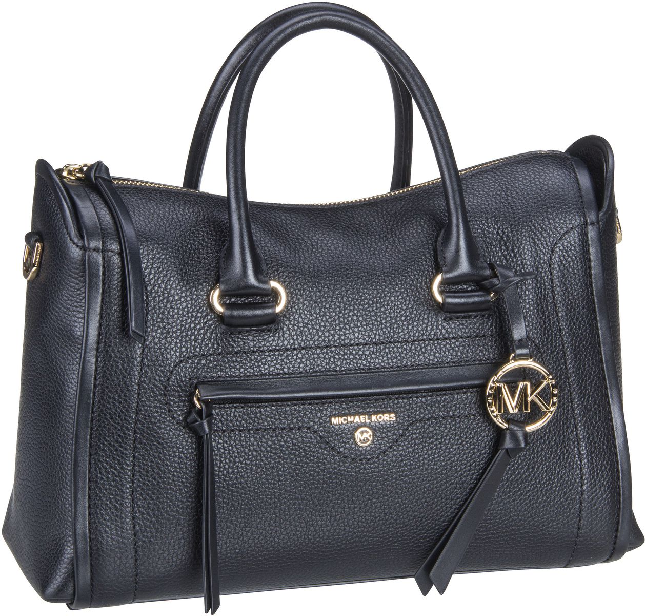 Michael Kors Handtasche Carine Medium Satchel Black