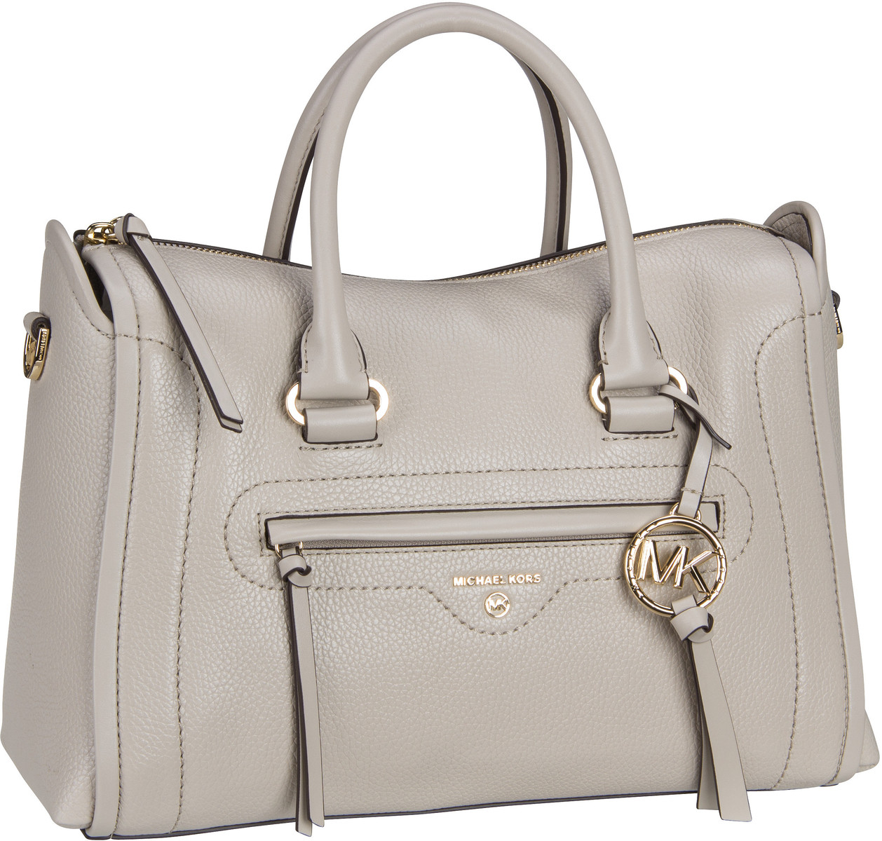 Michael Kors Handtasche Carine Medium Satchel Light Sand