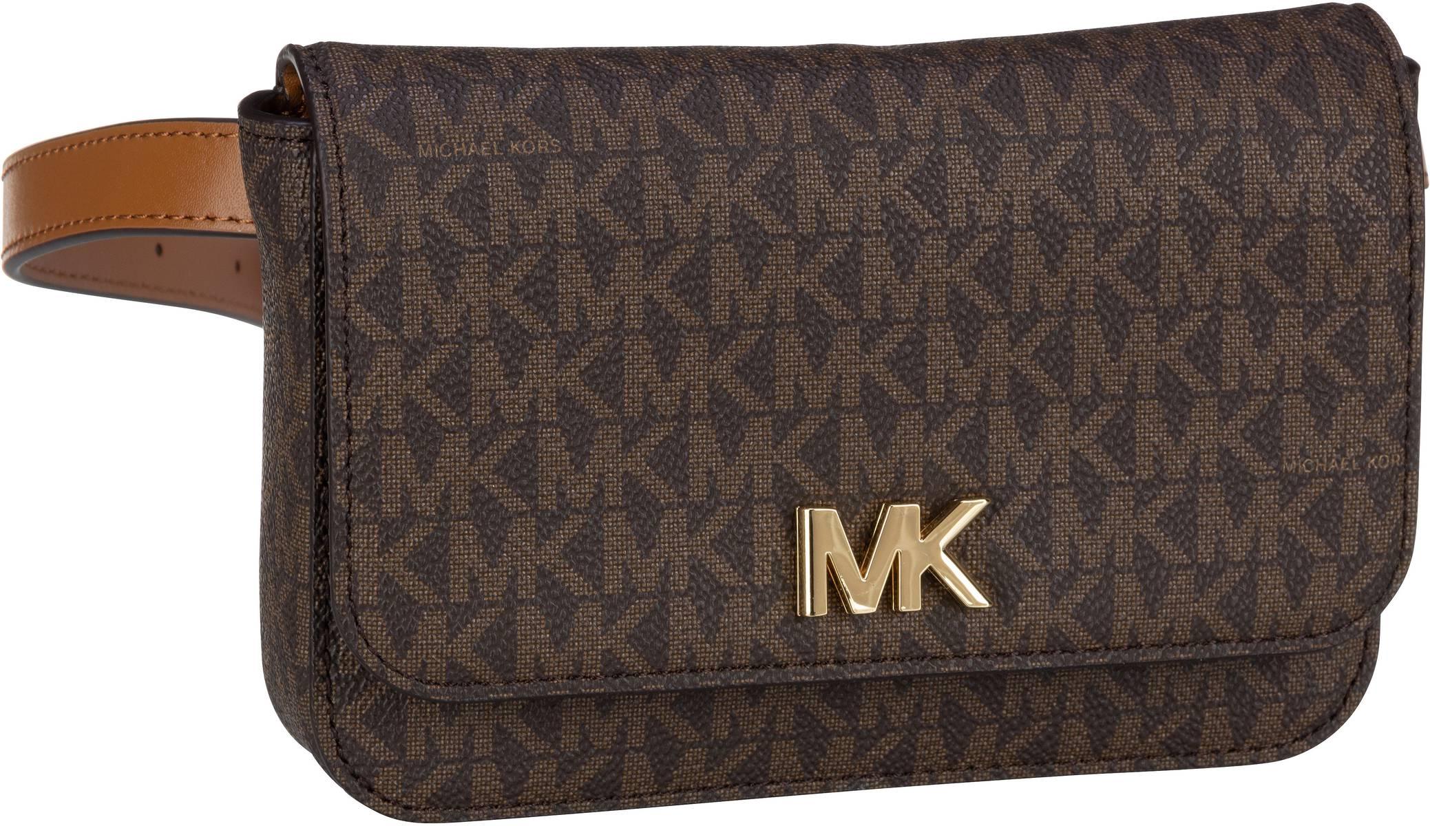 michael kors -  Gürteltasche Mott Belt Bag MK Signature Brown/Acorn