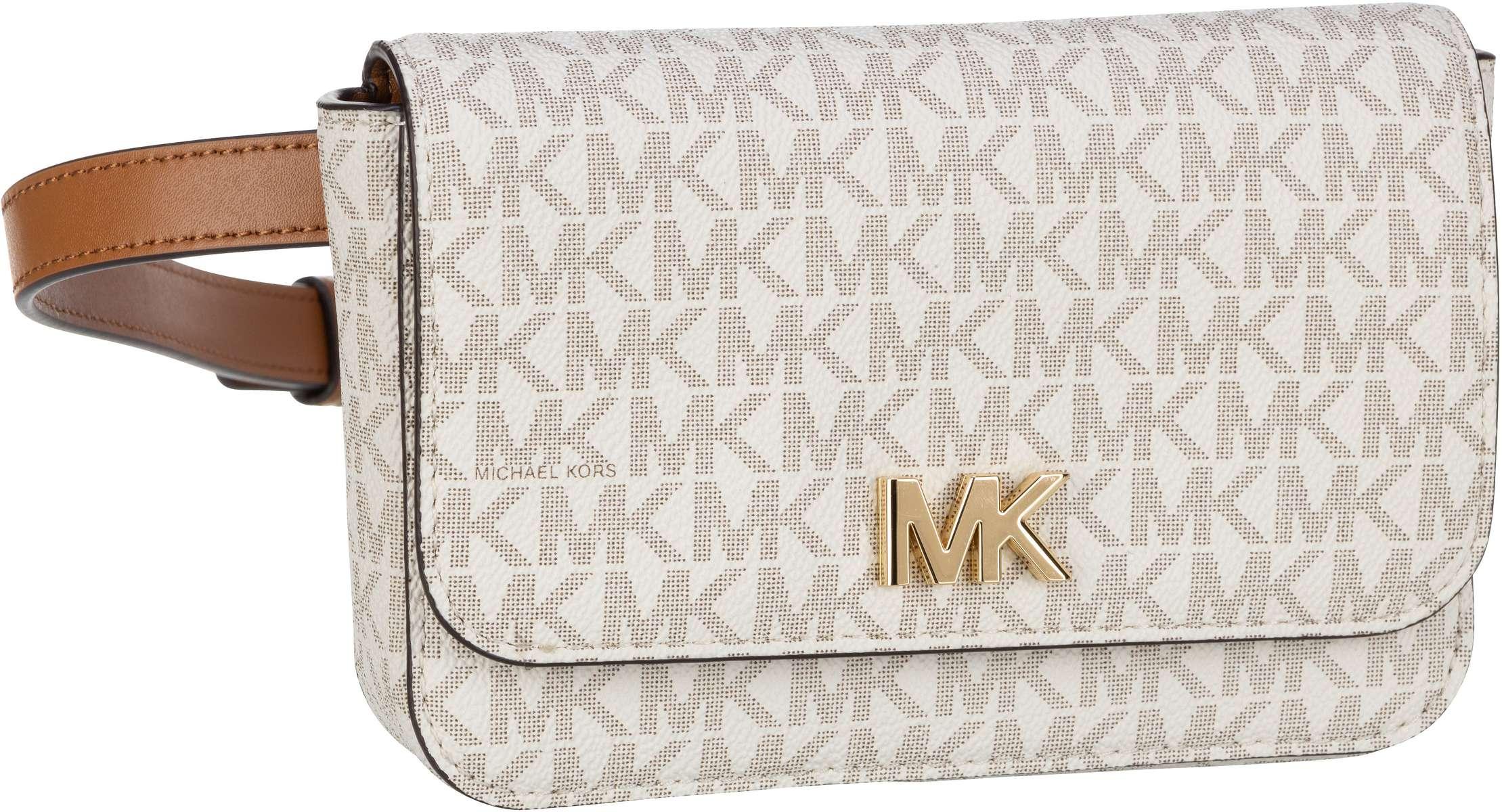 michael kors -  Gürteltasche Mott Belt Bag MK Signature Vanilla/Acorn