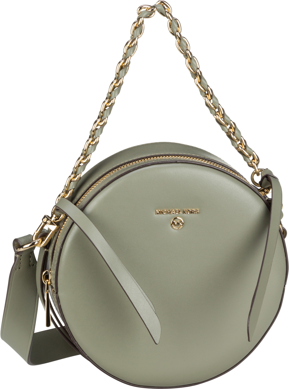 Michael Kors Umhängetasche Delancey Medium Circle Xbody Army Green