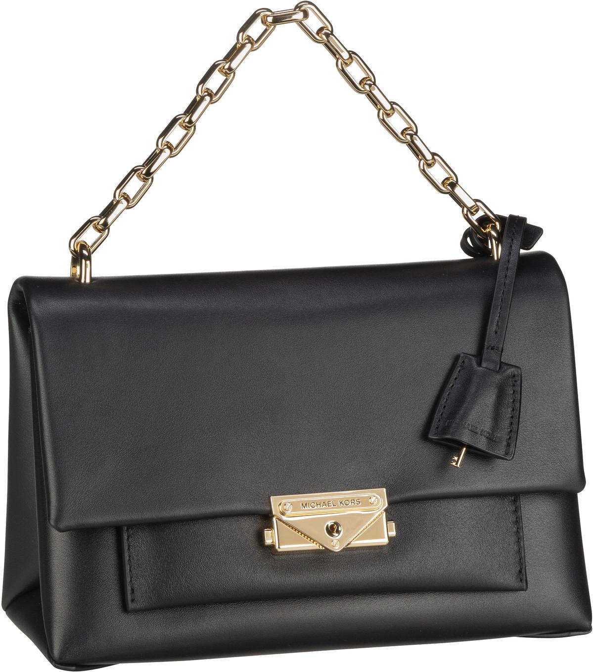 Michael Kors Handtasche Cece Medium Chain Shoulder Black