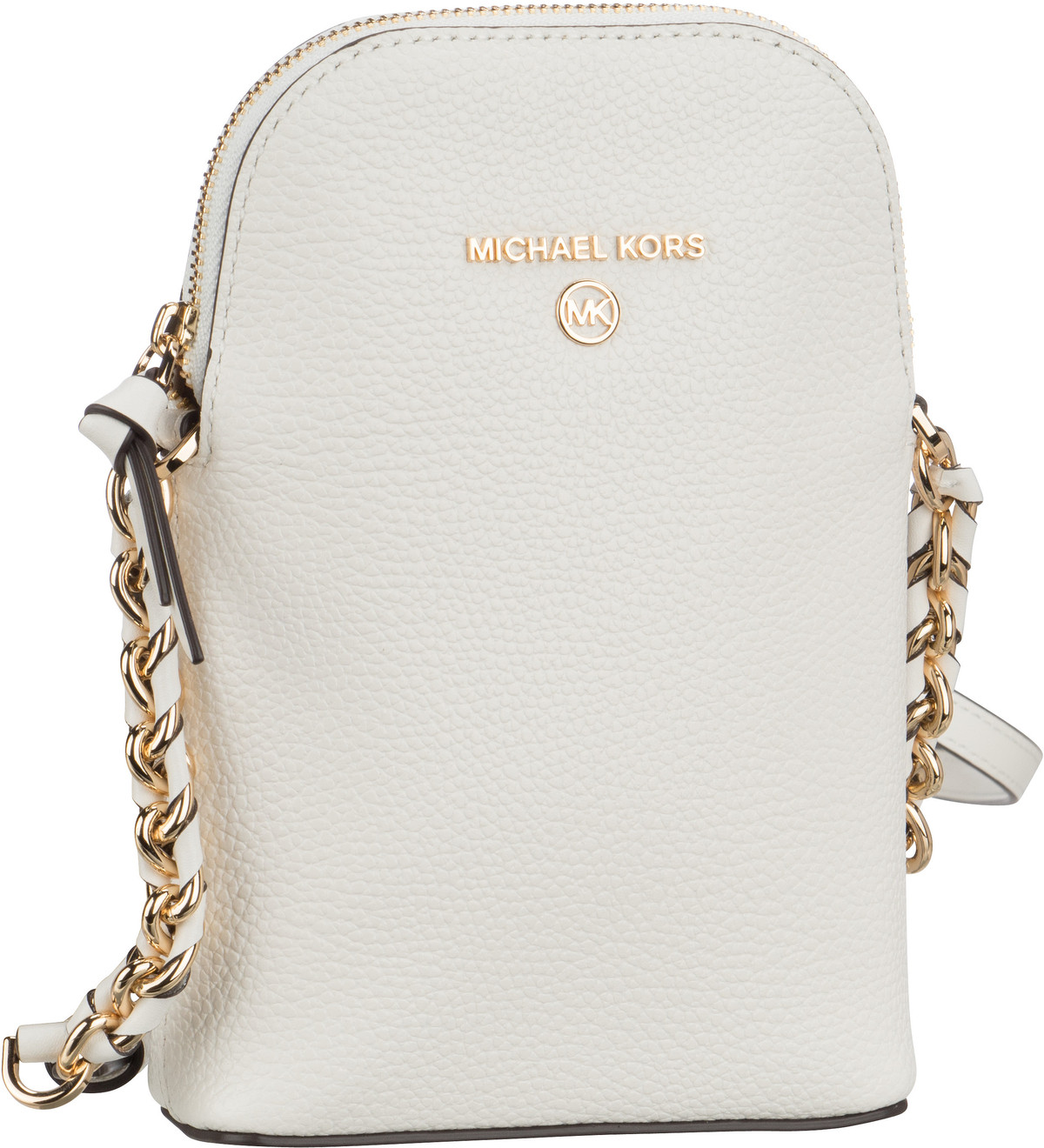 Michael Kors Umhängetasche Jet Set Charm Chain Phone Xbody Optic White
