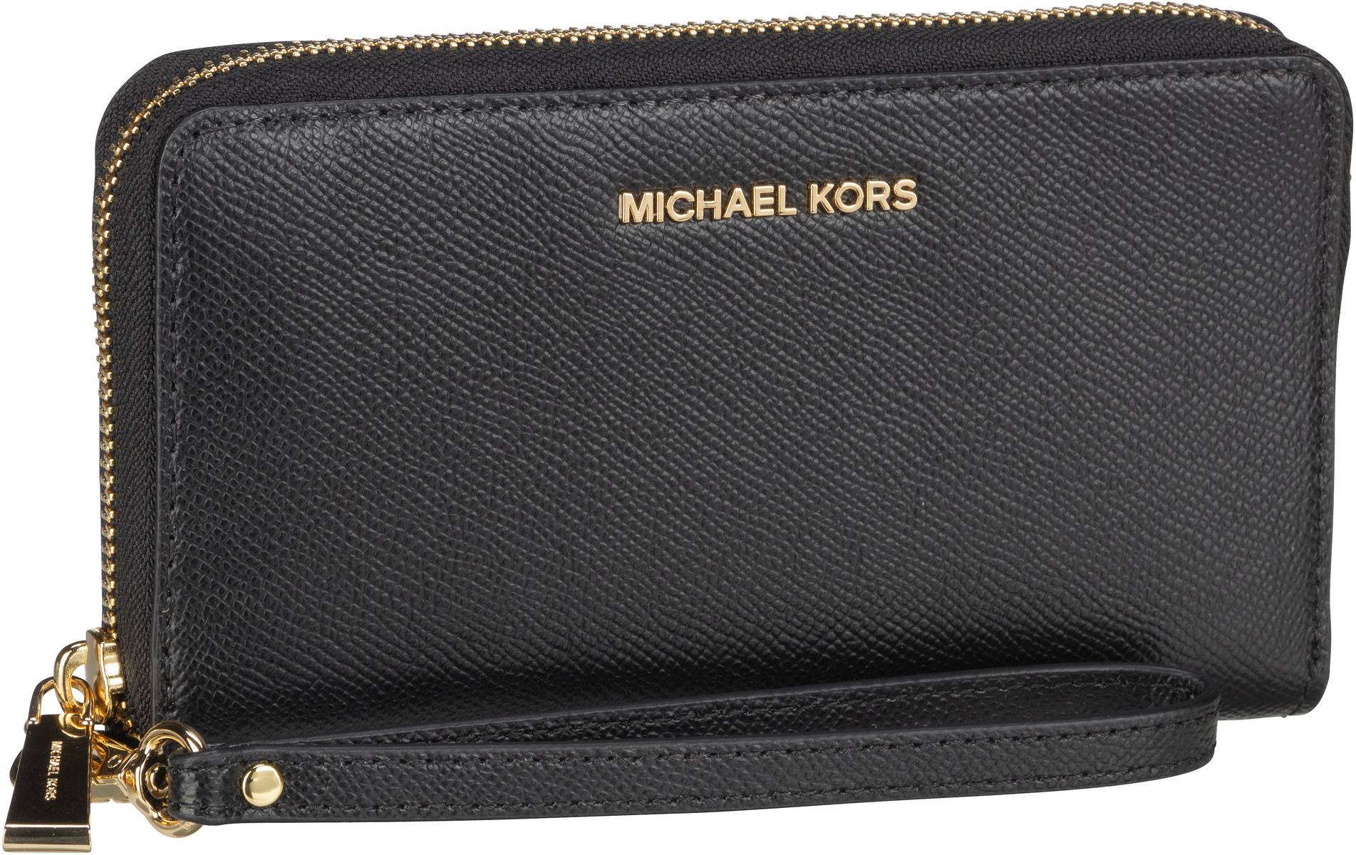 Michael Kors Handtasche Jet Set Large Flat MF Phone Case Black