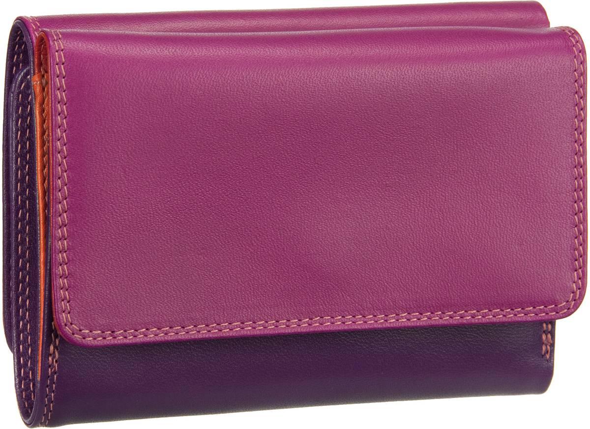 Geldboersen für Frauen - Mywalit Geldbörse Medium Purse Tri fold Wallet Sangria Multi  - Onlineshop Taschenkaufhaus