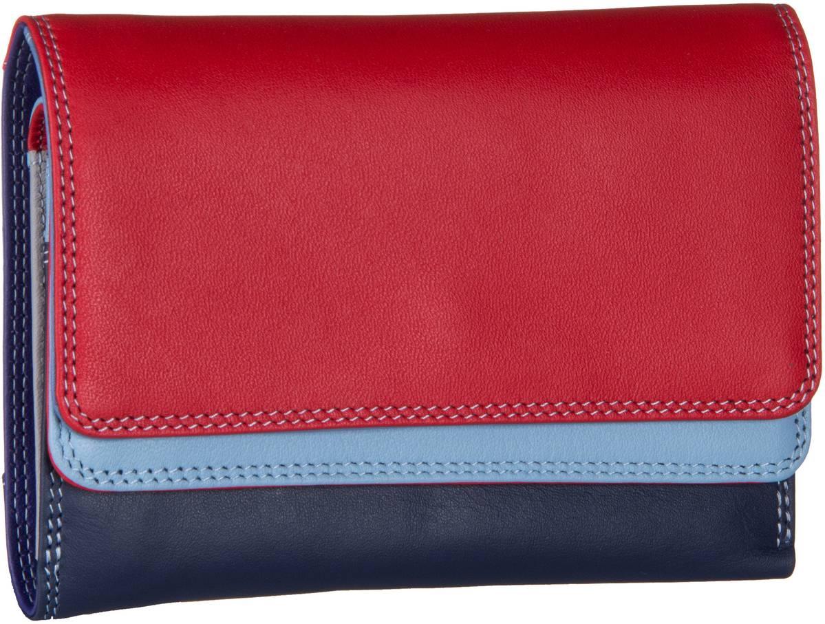 Geldboersen für Frauen - Mywalit Geldbörse Double Flap Purse Wallet Royal  - Onlineshop Taschenkaufhaus