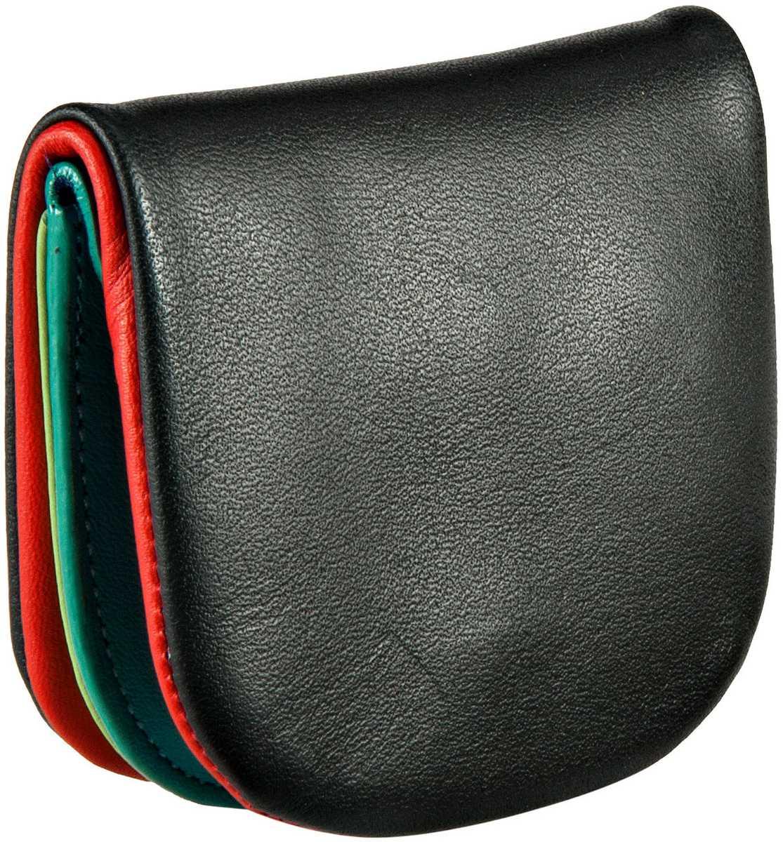 Geldboersen für Frauen - Mywalit Geldbörse Tray Purse Black Pace  - Onlineshop Taschenkaufhaus