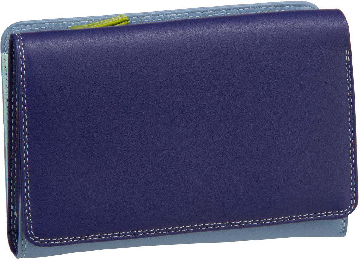 Mywalit Medium Tri Fold w Outer Zip Purse Lavender Geldbörse