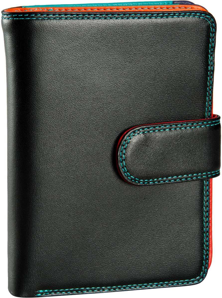 Geldboersen für Frauen - Mywalit Geldbörse Medium 10 C C Wallet w Zip Purse Black Pace  - Onlineshop Taschenkaufhaus