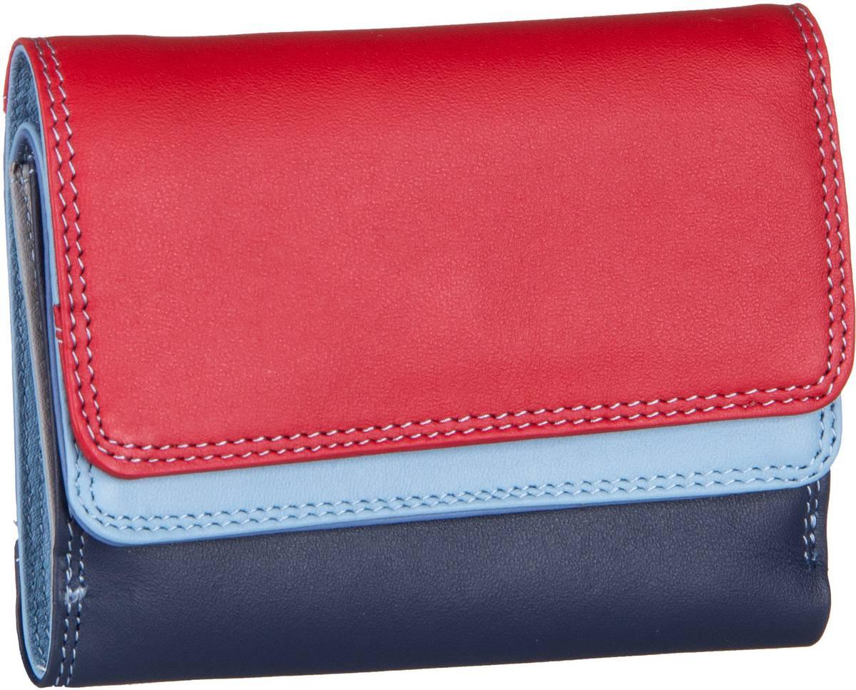 Geldboersen für Frauen - Mywalit Geldbörse Small Double Flap Wallet Royal  - Onlineshop Taschenkaufhaus