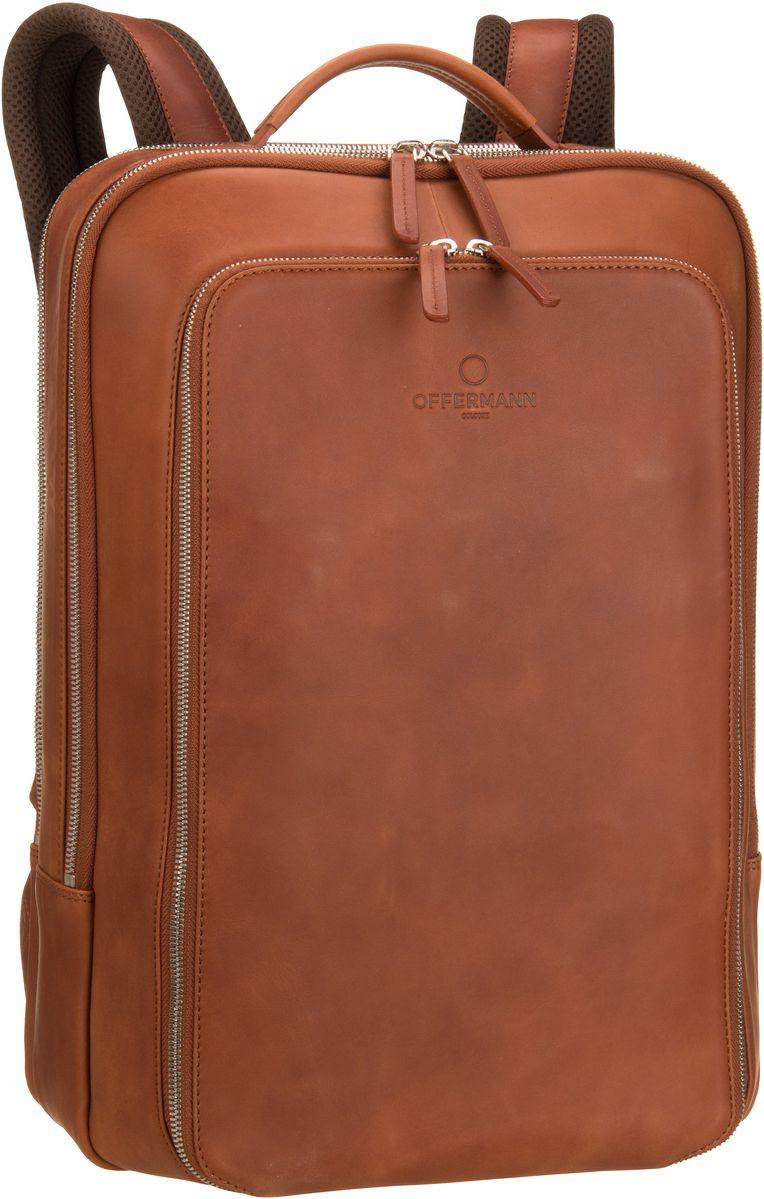 Offermann Backpack Men Fine Cognac - Laptopruck...